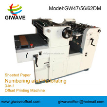 Automatic Numbering Stamp Machine For Paper With High Speed- GW56DM