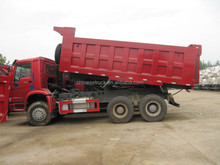 10 wheel tipper with 20cbm carriage for Equatorial Guinea 247kw/336hp