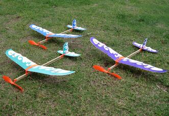 Rubber powered plane model and toy planes Rubber Band Plane