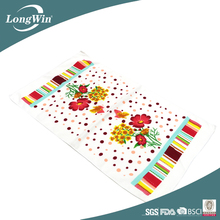 Floral Printed Design Dish Cloth Kitchen Towels