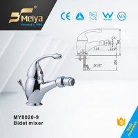 MEIYA single handle bidet faucet