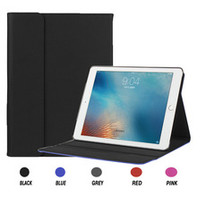 PU Leather Slim Folio Flip Stand Smart Cover for Apple iPad Pro 9.7