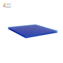 Hot product twin wall 10mm perforated plastic sheet
