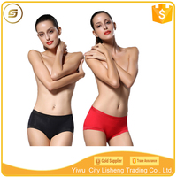 Wholesale on line high quality bamboo fiber spandex woman underwear lady underwear