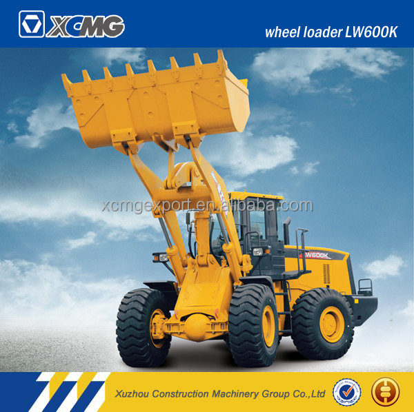 XCMG official manufacturer LW600K small garden tractor with front-end wheel loader