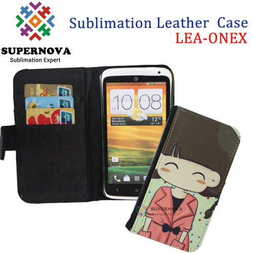 For HTC ONE X Sublimation Leather Case