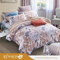 KOSMOS Bedding Printed bed sheet egyption cotton bedding sheets home bedding set