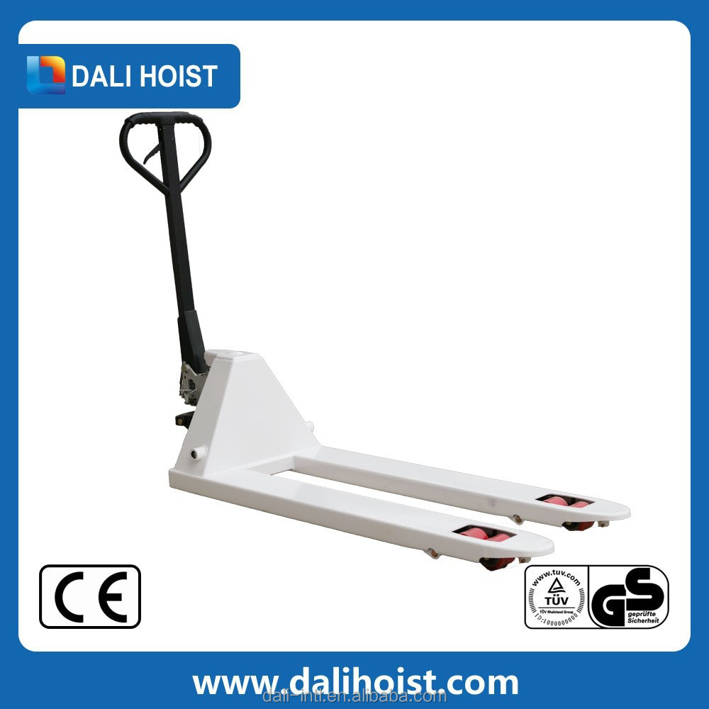 well and high quality control stainless steel hand pallet truck promotion