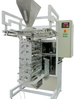 Sachet packing machine for bulk products like sugar, 3in1, instant coffee etc