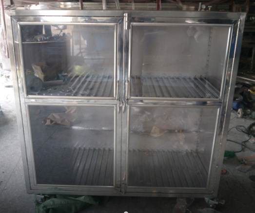 SMT pcb Stencil Cabinet Trolley stainless steel trolley cabinet for pcb