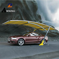 hot sale  Best selling hot chinese products solar carport double retractable vehicle awning with CE CCC ISO high quality