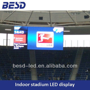 P10 indoor LED display for gymnasium