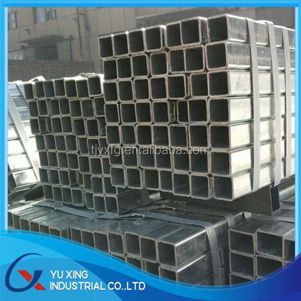 Galvanized square zinc coating steel pipe manufacturer with best quality
