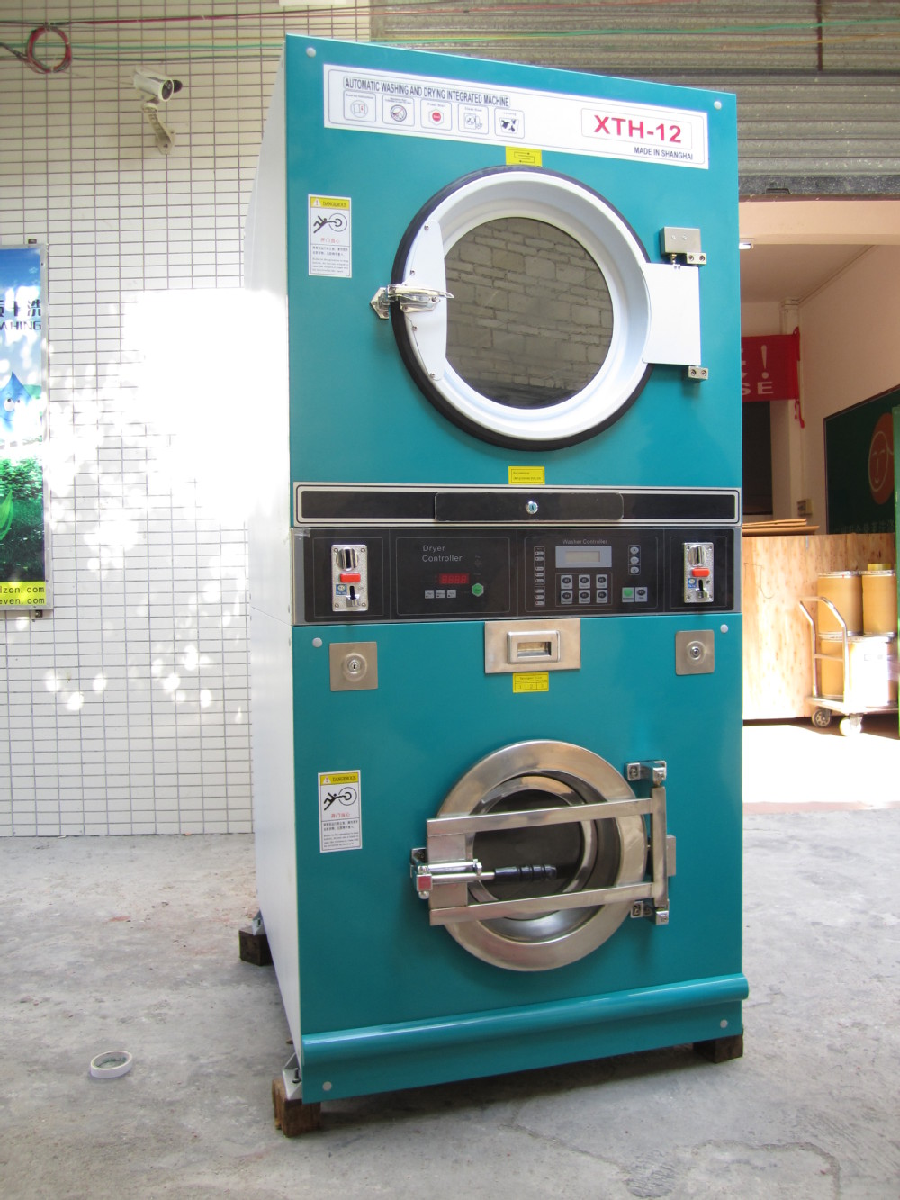 laundry machine coin operated