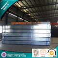 pre galvanized rectangular tubingS made in china