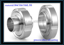 industry machinery fitting casting OEM stainless steel casting precision metal casting stainless steel machining parts