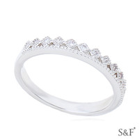 893030 Top 10 snowflake ring