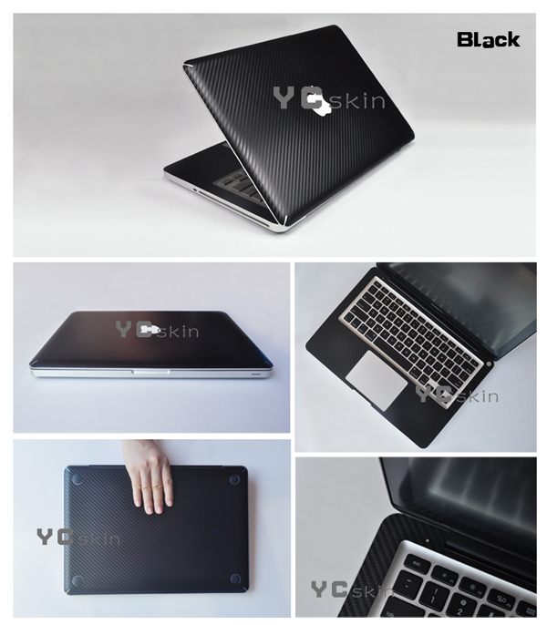 factory price china product full body laptop skin decal carbon fiber sticker for macbook