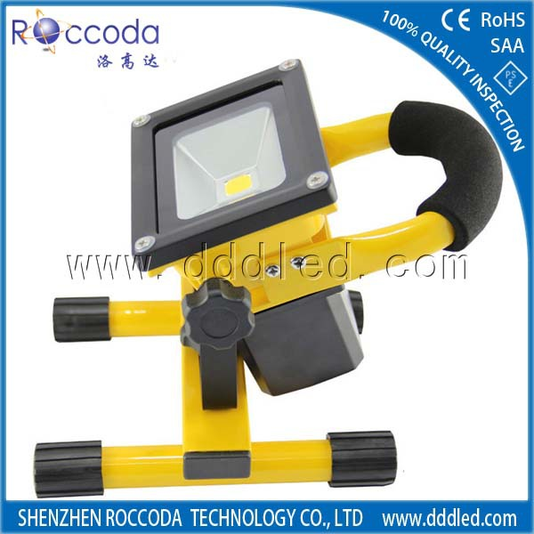 Latest construction products rechargeable led work light waterproof battery powered super bright led light