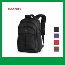 1680D polyester computer kipl travel black backpack bag for ladies