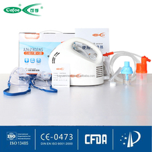 Breathing treatment nebulizer machine kit include face mask for adults / kids / infant