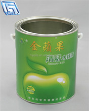 5L liquid paint tin can/bucket,oil container