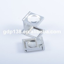 Silver Or Black Color Magnifying Glass For Printing Machine