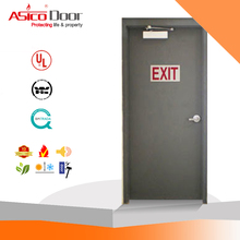 ASICO KH026 Hot Design Iron Single Security Door Gate With UL Listed