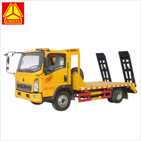 Sinotruk HOWO powered platform light truck for transportation