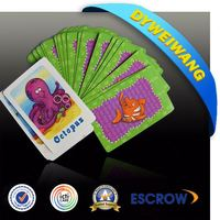 Top supplier plastic coated custom playing card fun time