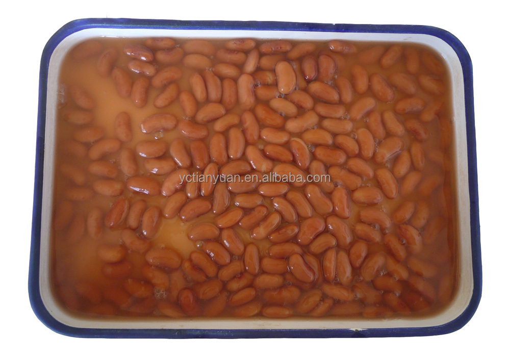 China red beans factory salty taste red bean in tin package