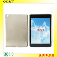 free sample Soft TPU Mobile Cover Printing Mobile Phone Clear Case For iPad mini 4