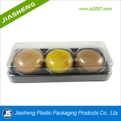 Dongguan Food Grade Macaron Clear Plastic Packaging Boxes Manufacturer