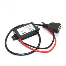 DC 12V to DC 5V Voltage Reducer 3A 15W with Single USB Car Power Converter For Phone Charging