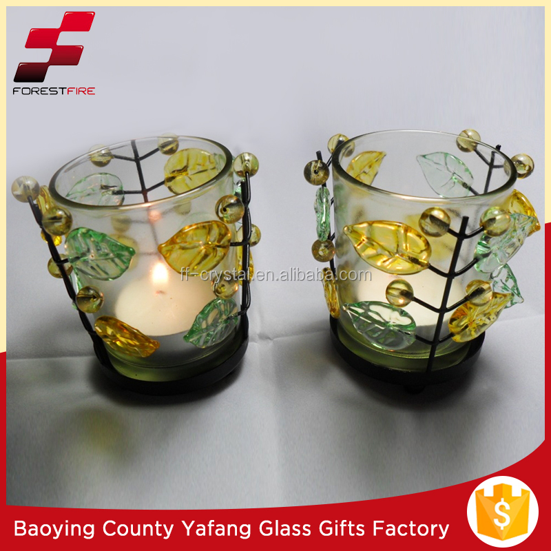 Glass Candle Cup (FF-G23548)