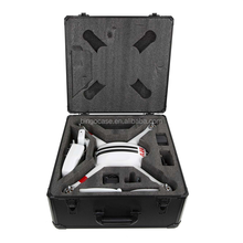 Multi purpose drone dji phantom 3 standard aluminum case with lock