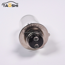 Motorcycle Miniature Lamp T19 P15D-25-1 Universal Headlight Bulb