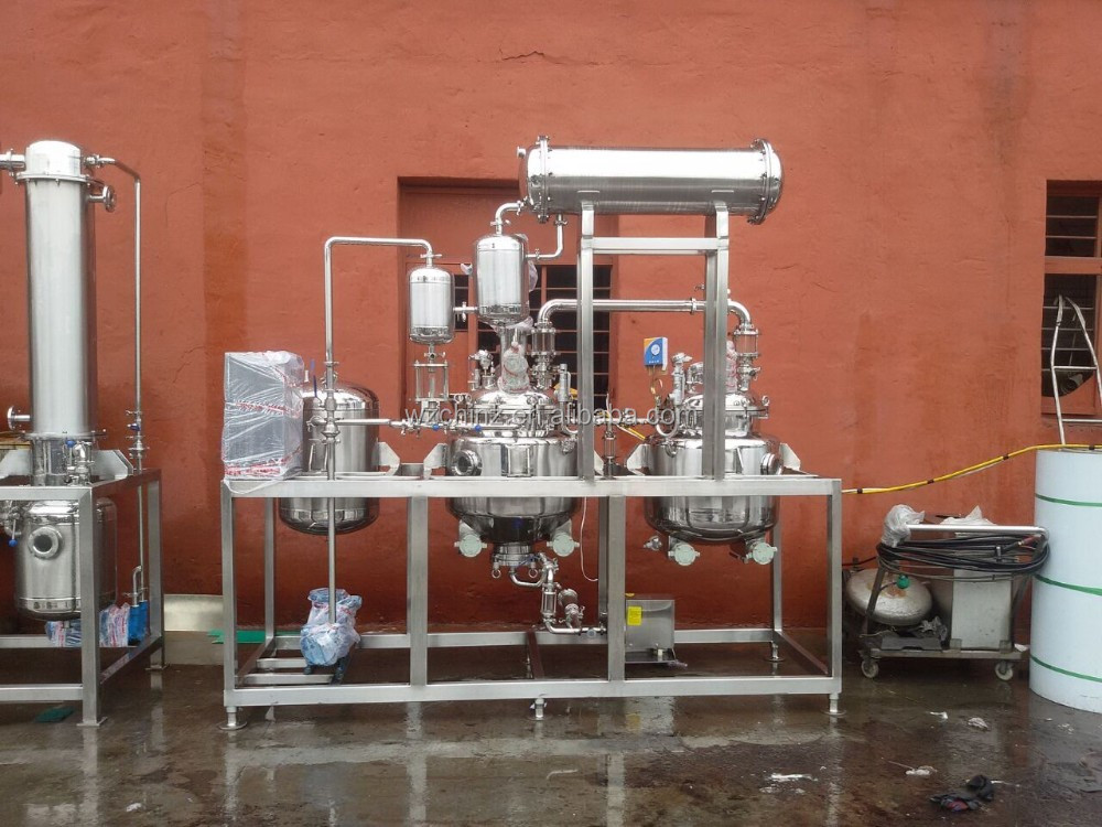 100L hot oil electric heating extractor & concentrator machine
