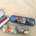 Superman Design Zipper Pencil Tin Case With Printing