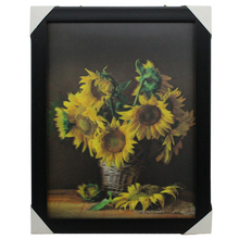 HONGDAO 3D picture for oil painting,lovely picture,sunflower picture