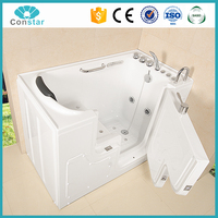 White Deeply acrylic sexy toilet funny warm walk in bathtub for old people