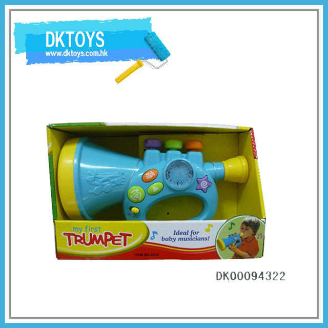 Plastic Electronic Toy Trumpet Musical Toy