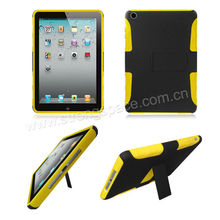 for iPad MIni stand case Black and yellow