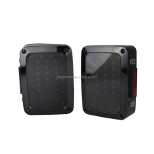 Hot sale offroad rear light jeep tail light Running/ Turn/ Brake/ Reverse light 18W for j-eep w-rangler