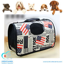 colorful canvas dog bag carrier