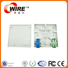 Supplier OEM PVC rj45 network modular fiber optic face plate IEC Standard