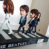 Cartoon version Beatles mini statue collectible anime resin figure