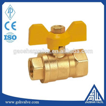 brass ball valve for nature gas