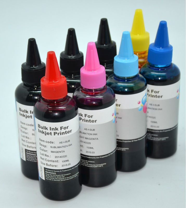 Hot! Aomya water based pigment ink for Epson/ Canon/ HP printers