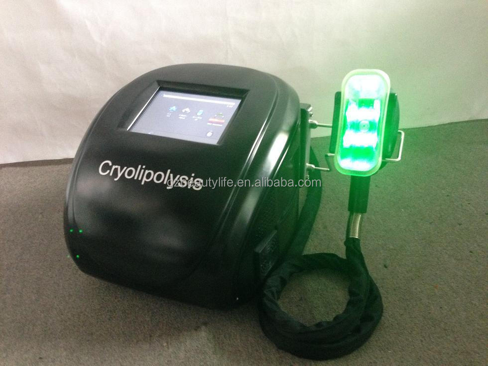 2018 CE approved fat freezing cryolipolysis machine portable with 3 cryo handles